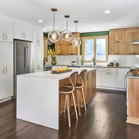 modern rustic kitchen case charlotte