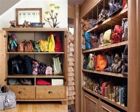 Purse Storage Ideas With 40 Handbag Storage Solutions, And