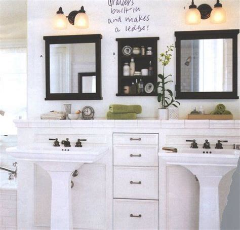 Small Bathroom Sinks With Storage by Creating Space For Storage Bathroom Ideas