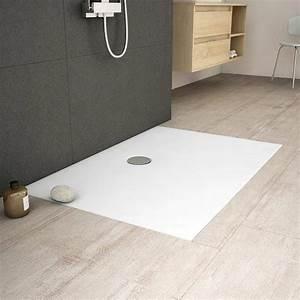 Receveur A Carreler 140x90 : receveur de douche arone rectangle blanc mat 90x140 cm ~ Dailycaller-alerts.com Idées de Décoration