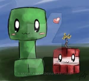 Minecraft TNT Creeper