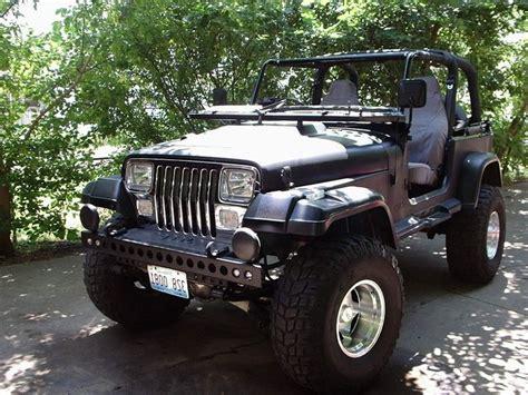 jeeps matte black matte black jeep wrangler yj jeep pinterest cars