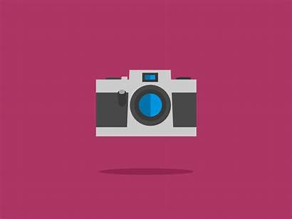 Camera Animation Gifs Dribbble Movie Capture Manufacture