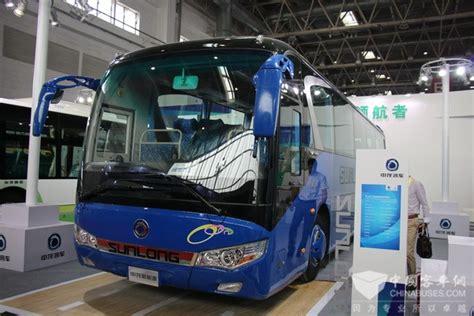 sunlong  buses debut  china transpo   beijing news wwwchinabusesorg