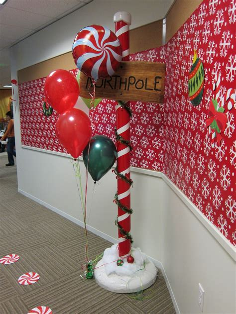 north pole decor  birthday party ideas pinterest
