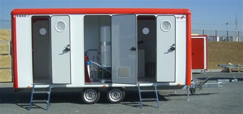 mobile decontamination units    stages dcu