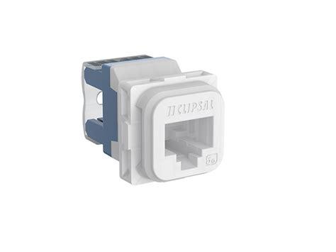 clipsal iconic 40rj45sma6 tn modular socket category 6 utp rj45 unshielded