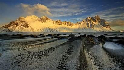Desktop Winter Landscape Iceland Ice Land Cold