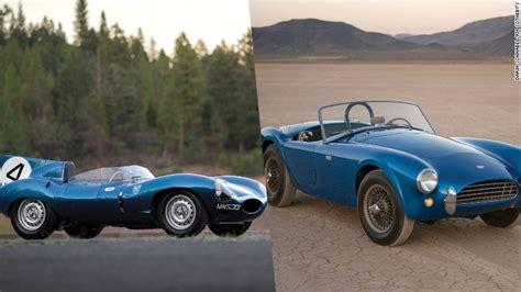 jaguar  shelby cobra set world records  auction