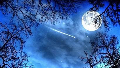 Moon Stars Wallpapers Night