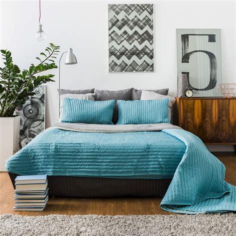 chambre turquoise 20 idées de décoration de chambre bleu turquoise
