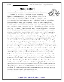 {num} free reading comprehension worksheets that are sure to help your students stay engaged. Worksheet Reading Comprehension Grade 9 - Kind Worksheets