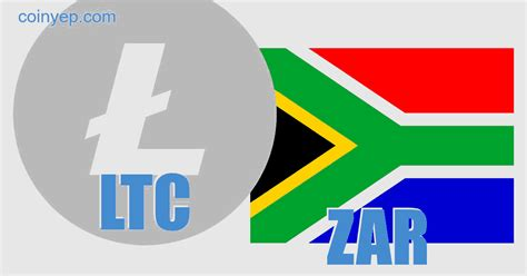 litecoin south african rand ltczar  currency
