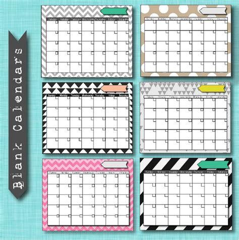 free calendar templates free printable blank calendar templates printables