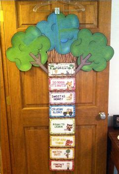 forest woodland theme complete clip chart system  katie