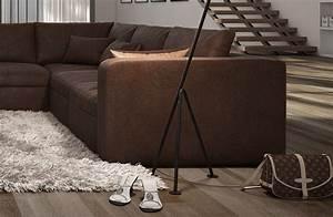 Big Sofa L Form : b ware sofa couch wohnlandschaft l form big sofa braun 320 cm sale ebay ~ Eleganceandgraceweddings.com Haus und Dekorationen