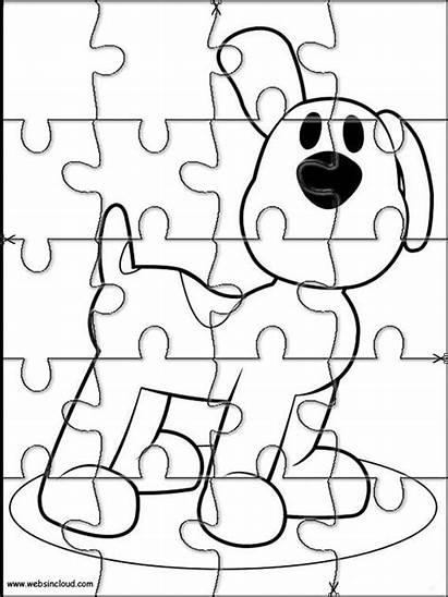 Pocoyo Puzzles Actividades Rompecabezas Imprimir Recortables Colorear