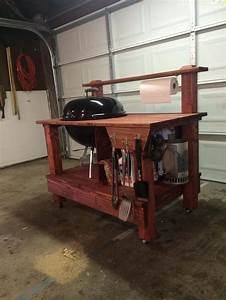 Build your own barbecue grill table DIY, Barbecue Grill