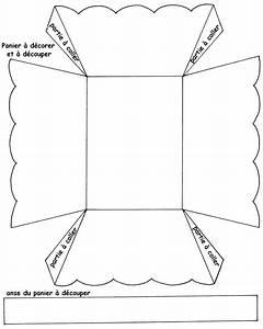 Bricolage De Paques Panier : modele de panier pour paques gx95 jornalagora ~ Melissatoandfro.com Idées de Décoration