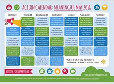 "Get Your ""Meaningful May"" Calendar from Action for"
