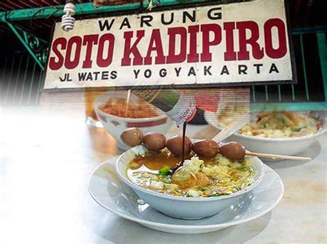 soto kadipiro kuliner legendaris berusia hampir seabad