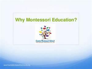 Why Montessori Education?