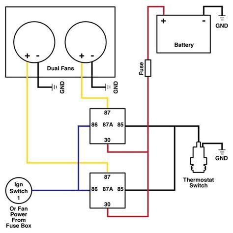 Dual Cooling Fan Wiring Diagram Hot Rod How Diy
