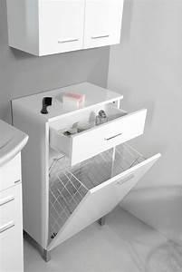 Badschrank Mit Wäschekorb : badschrank wei mit integriertem w schekorb schrank mit handtuchaufbewahrung nord aqua ~ Eleganceandgraceweddings.com Haus und Dekorationen