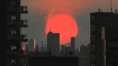Sunset Japan Backgrounds Wallpapers Artwork Desktop Beginning