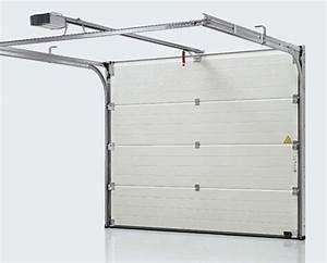 Porte De Garage Motorisée Somfy : porte de garage sectionnelle motorisee ~ Edinachiropracticcenter.com Idées de Décoration
