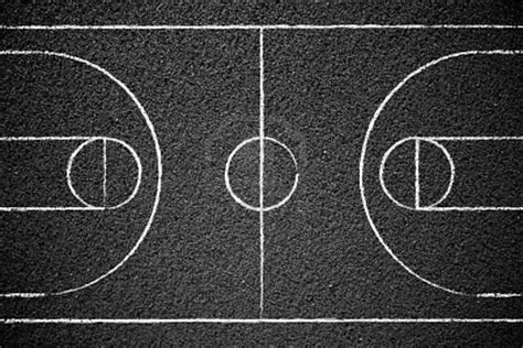 stock photo street basketball chalk drawings drawings