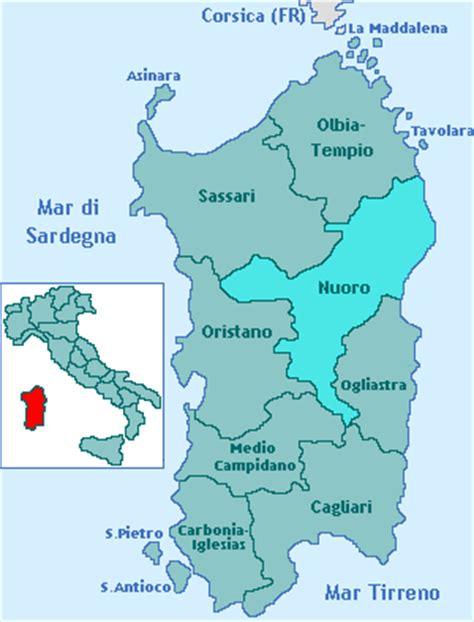 provincia  nuoro regione sardegna