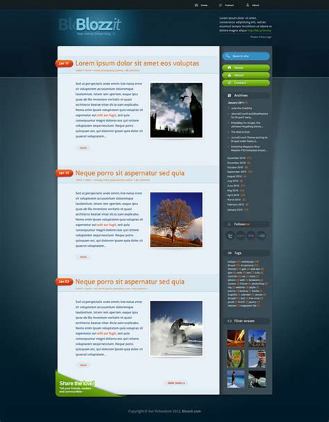 articles template css fresh resources articles and freebies for web designers