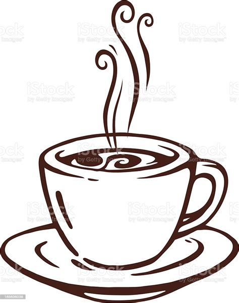 Download and use 10,000+ coffee illustration stock photos for free. Cup Of Coffee Stock Illustration - Download Image Now - iStock