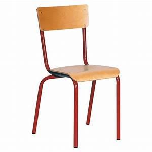 Chaise D école : chaise atlas 4 pieds manutan collectivit s ~ Teatrodelosmanantiales.com Idées de Décoration