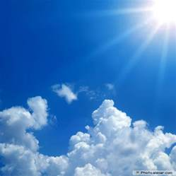 Blue Sky Clouds Sun images