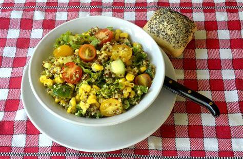 cuisiner le quinoa salade de quinoa sauce moutarde par ma cuisine santé