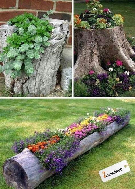 ideas  decorar el jardin  cosas recicladas