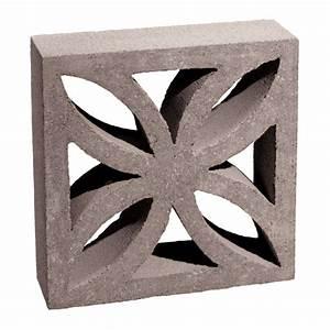 Shop Basalite Decorative Concrete Block (Common: 4-in x 12