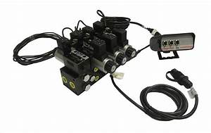 U0026quot 10 Switch Control Box For Electrohydraulic Manifolds