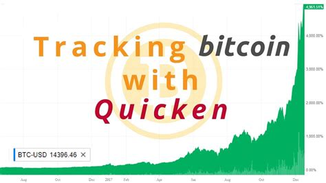 How to track a bitcoin transaction. Using Quicken to Track Bitcoin - YouTube