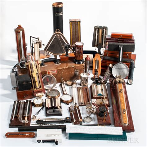 Extensive Collection of Scientific Instruments and ...