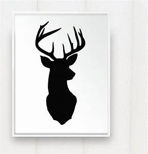Whitetail Deer Head Silhouette Pictures Tattoo - TattoosKid
