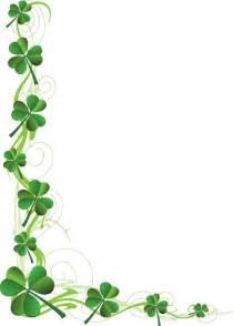 St. Patrick's Day Clip Art Borders