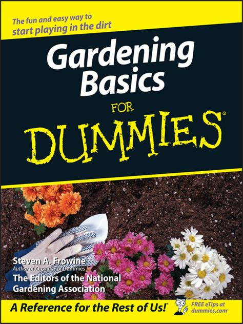 gardening basics for dummies gardening basics for dummies district of columbia public library overdrive