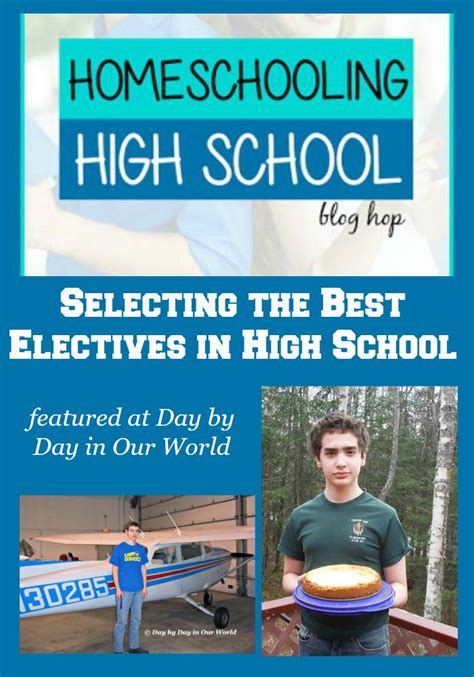 Selecting The Best Electives In High School  Day By Day