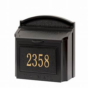 Whitehall Products | Custom Wall Mount Mailbox with ...