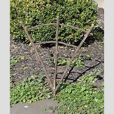 Mini Real Twig Fairy Garden Trellis  Natural Grapevine