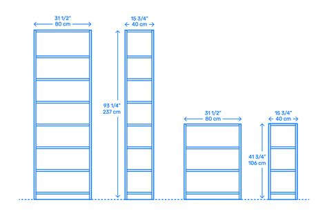 Billy Bookcase Measurements by Ikea Billy Bookcases Dimensions Drawings Dimensions Guide
