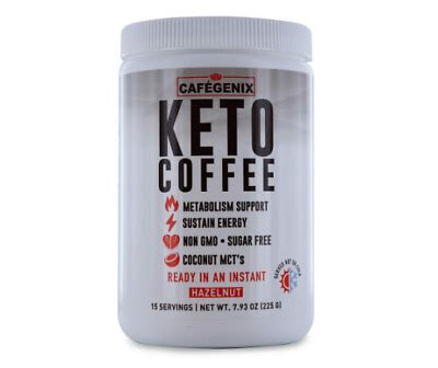 It's also a way of giving this ketogenic philosophy of eating a try. Cafegenix Keto Coffee Hazelnut 7.93 oz | eBay